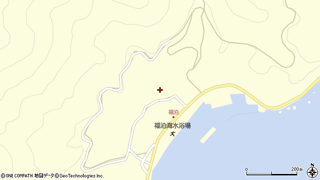 大分県佐伯市上浦大字最勝海浦2706周辺の地図