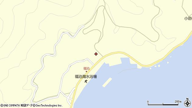 大分県佐伯市上浦大字最勝海浦2605周辺の地図