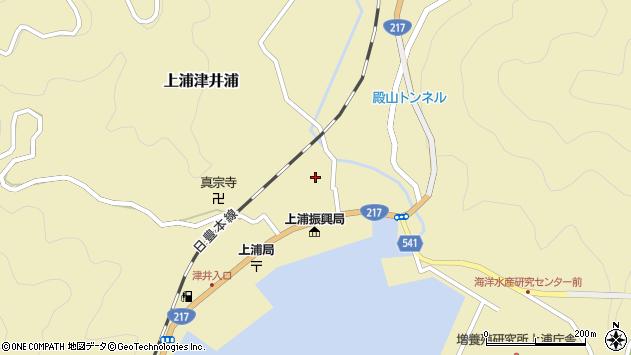 大分県佐伯市上浦大字津井浦1341周辺の地図