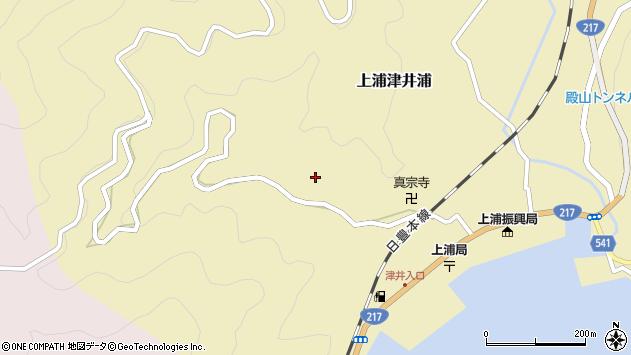 大分県佐伯市上浦大字津井浦1974周辺の地図