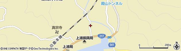 大分県佐伯市上浦大字津井浦1347周辺の地図