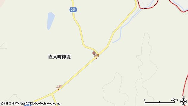 大分県竹田市直入町大字神堤960周辺の地図