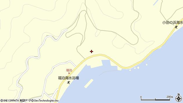大分県佐伯市上浦大字最勝海浦2197周辺の地図