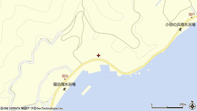 大分県佐伯市上浦大字最勝海浦2192周辺の地図