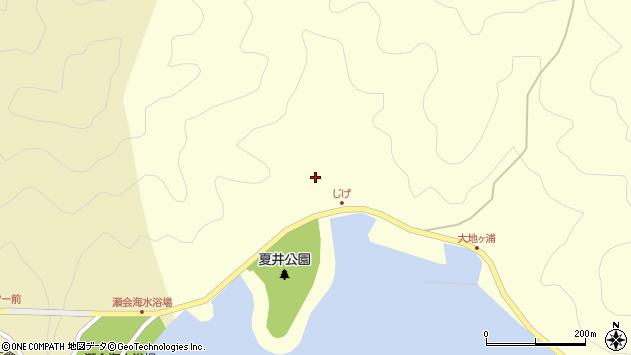 大分県佐伯市上浦大字最勝海浦5957周辺の地図
