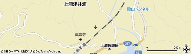 大分県佐伯市上浦大字津井浦1255周辺の地図
