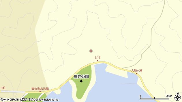 大分県佐伯市上浦大字最勝海浦5956周辺の地図