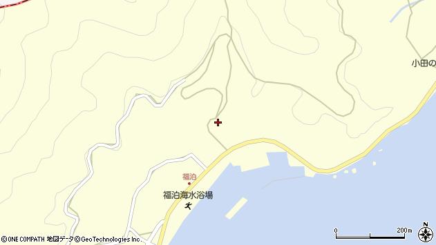 大分県佐伯市上浦大字最勝海浦2221周辺の地図