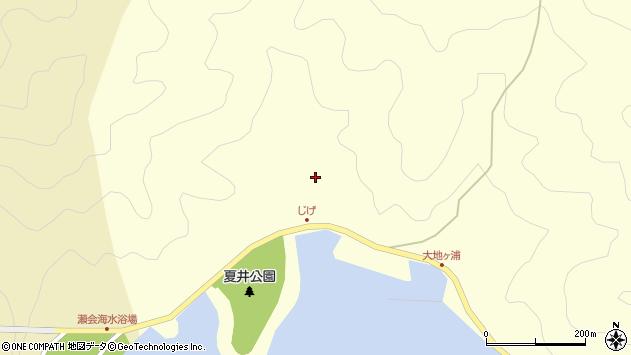 大分県佐伯市上浦大字最勝海浦5448周辺の地図