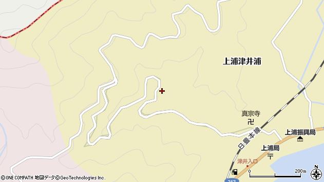 大分県佐伯市上浦大字津井浦17612周辺の地図
