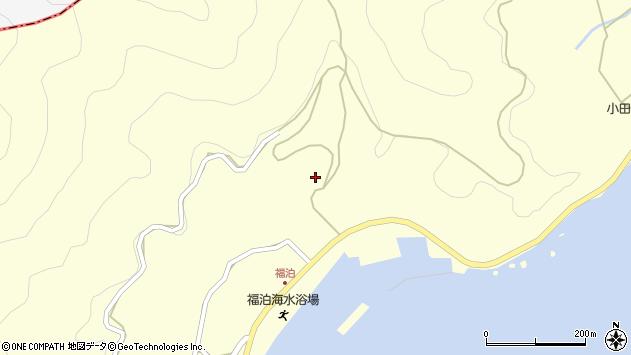 大分県佐伯市上浦大字最勝海浦福泊周辺の地図