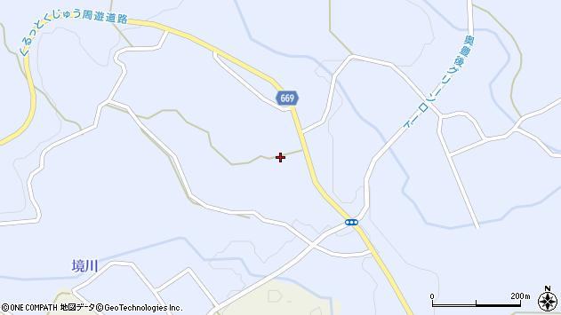 大分県竹田市久住町大字有氏1349周辺の地図