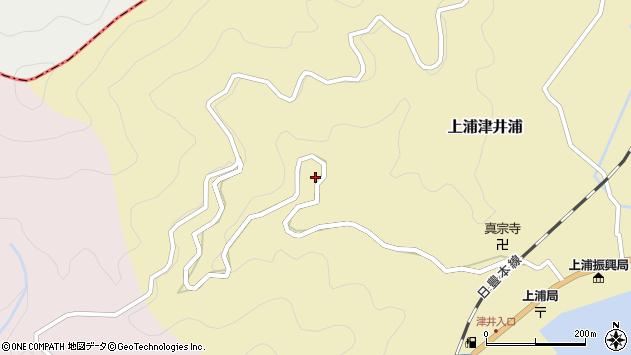 大分県佐伯市上浦大字津井浦1759周辺の地図