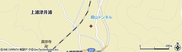 大分県佐伯市上浦大字津井浦320周辺の地図
