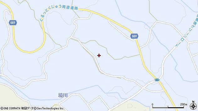 大分県竹田市久住町大字有氏1597周辺の地図