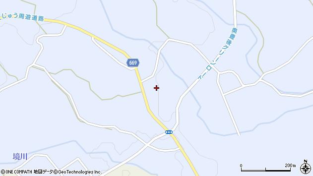 大分県竹田市久住町大字有氏1246周辺の地図