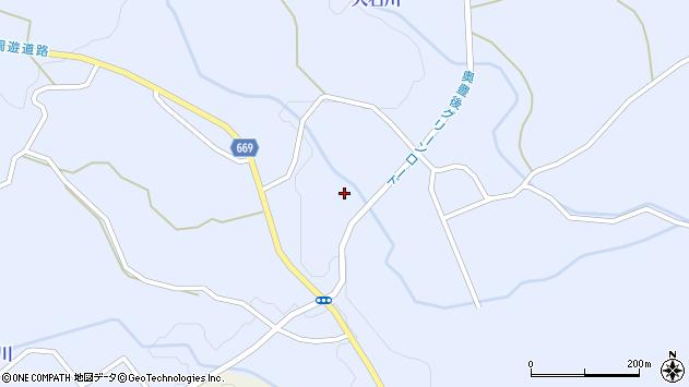 大分県竹田市久住町大字有氏1267周辺の地図