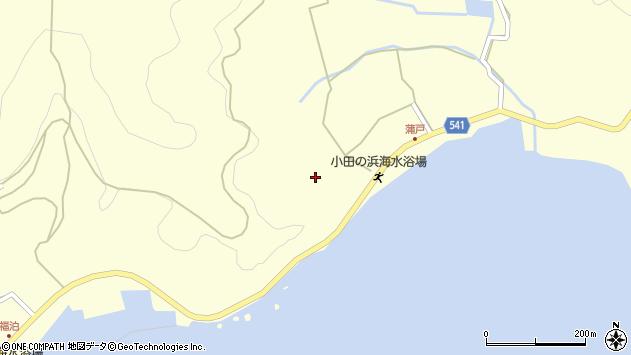 大分県佐伯市上浦大字最勝海浦1643周辺の地図