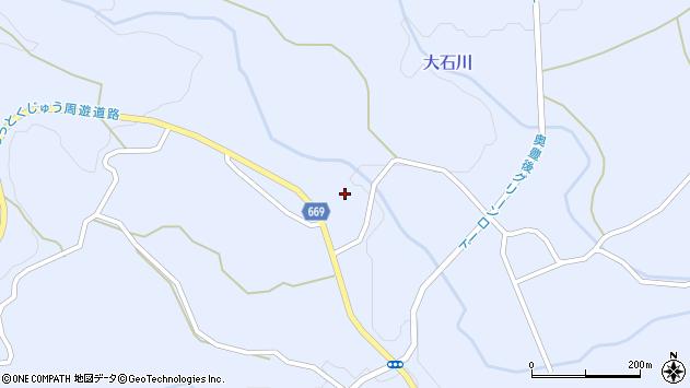 大分県竹田市久住町大字有氏1357周辺の地図
