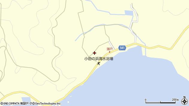 大分県佐伯市上浦大字最勝海浦1579周辺の地図