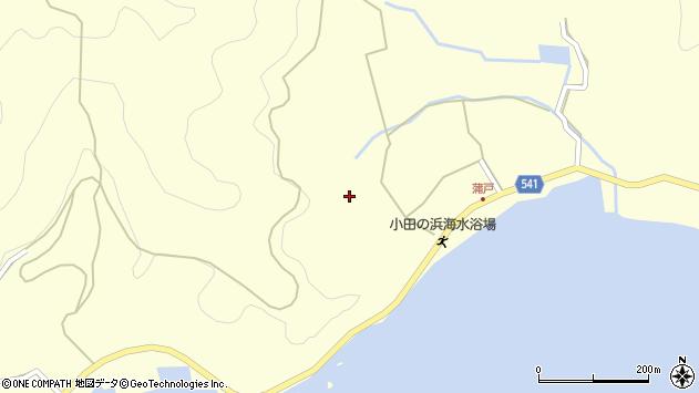 大分県佐伯市上浦大字最勝海浦1631周辺の地図