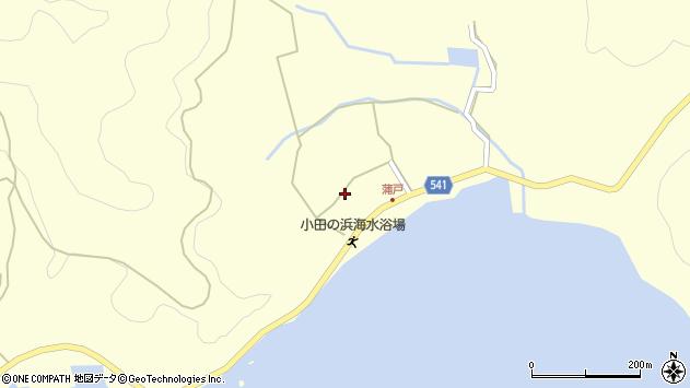 大分県佐伯市上浦大字最勝海浦1598周辺の地図