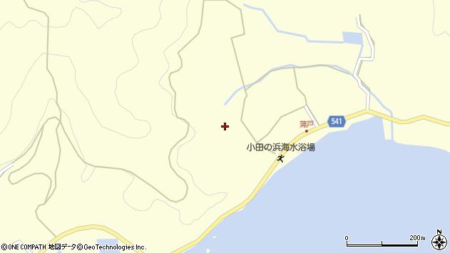 大分県佐伯市上浦大字最勝海浦1532周辺の地図