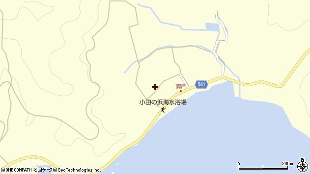 大分県佐伯市上浦大字最勝海浦1578周辺の地図