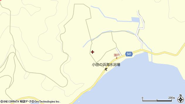 大分県佐伯市上浦大字最勝海浦1546周辺の地図