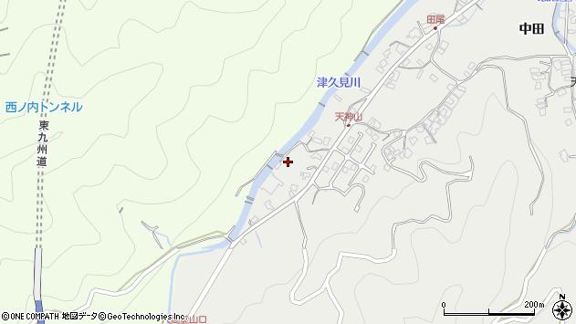 大分県津久見市津久見5973周辺の地図