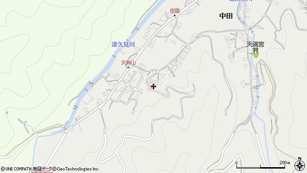 大分県津久見市津久見5792周辺の地図