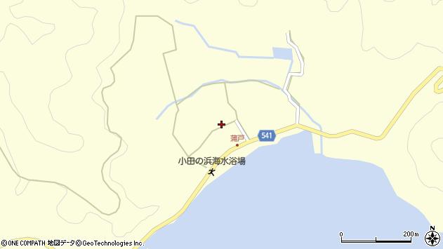大分県佐伯市上浦大字最勝海浦1602周辺の地図