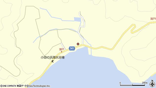 大分県佐伯市上浦大字最勝海浦1610周辺の地図