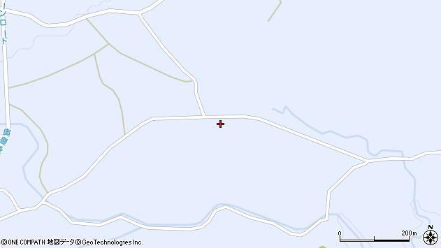 大分県竹田市久住町大字有氏896周辺の地図