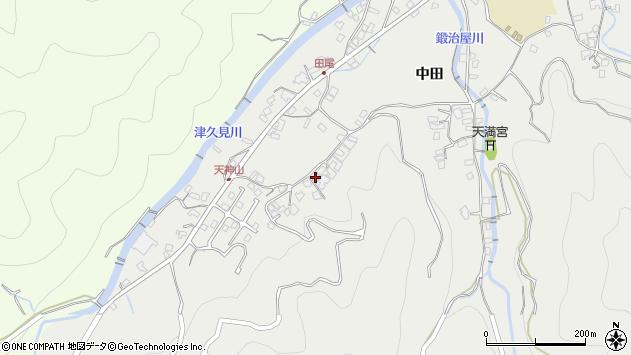 大分県津久見市津久見5787周辺の地図
