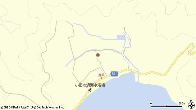 大分県佐伯市上浦大字最勝海浦1442周辺の地図