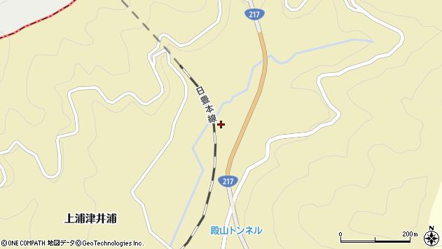 大分県佐伯市上浦大字津井浦470周辺の地図