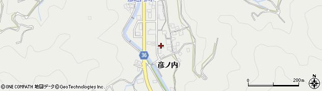 大分県津久見市津久見原周辺の地図
