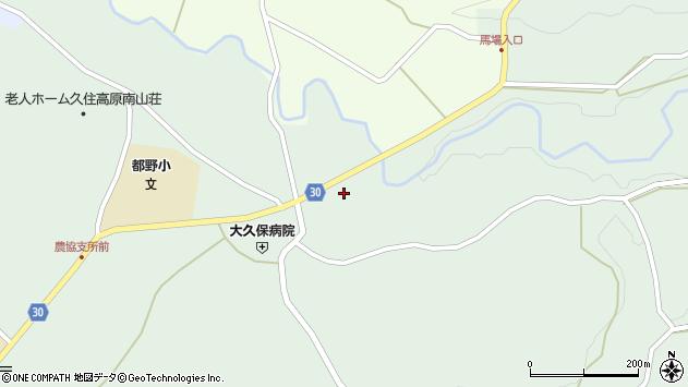 大分県竹田市久住町大字栢木6122周辺の地図