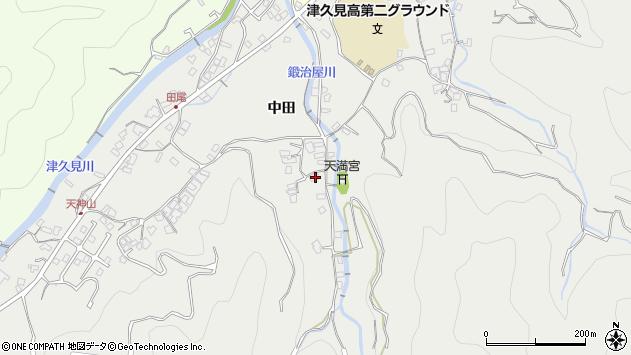 大分県津久見市津久見5407周辺の地図