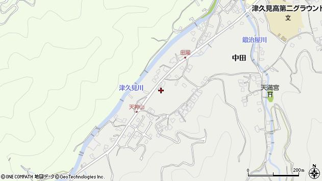 大分県津久見市津久見5871周辺の地図