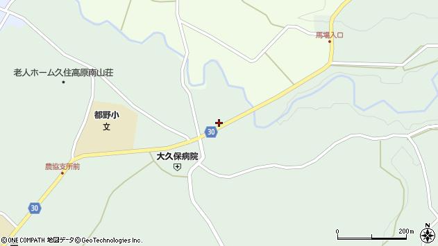 大分県竹田市久住町大字栢木6124周辺の地図