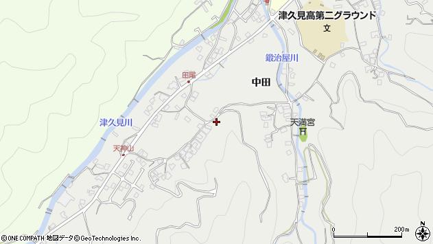 大分県津久見市津久見5731周辺の地図