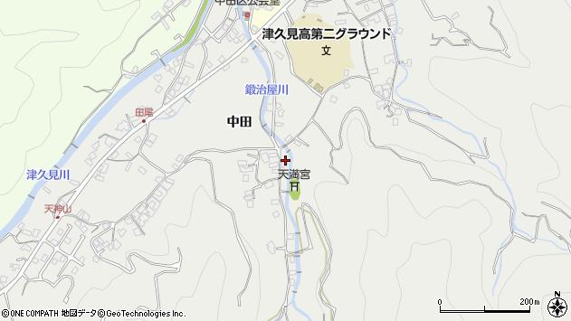 大分県津久見市津久見5217周辺の地図
