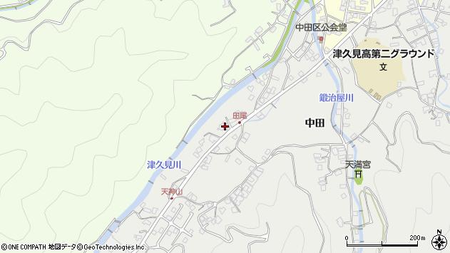 大分県津久見市津久見5879周辺の地図