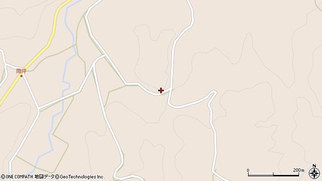 大分県竹田市直入町大字長湯2305周辺の地図