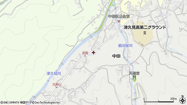 大分県津久見市津久見5648周辺の地図