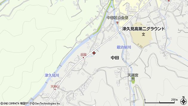 大分県津久見市津久見5638周辺の地図
