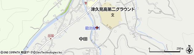 大分県津久見市津久見5126周辺の地図