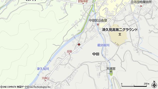 大分県津久見市津久見5637周辺の地図